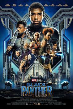 Poster Marvel, Marvel Movie Posters, Avengers Poster, Best Movie Posters, Black Panther Marvel, Black Panther 2018, Films Marvel, Avengers Movies, Marvel Movies In Order