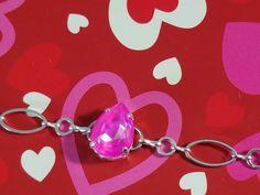 Hot pink swarivski #valentinegift Dená Jewelry Designs
