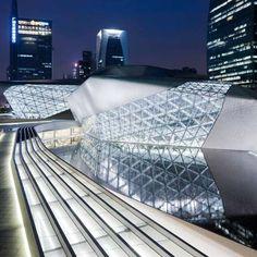 Guangzhou Opera House by Zaha Hadid Architects: