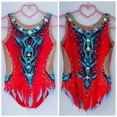 For gymnasts from Ukraine bathin Rhythmic Gymnastics Costumes, Gymnastics Competition Leotards, Ballet Leotards For Girls, Dance Leotards, Kids Leotards, Costume Design, Bathing, How To Wear, Instagram