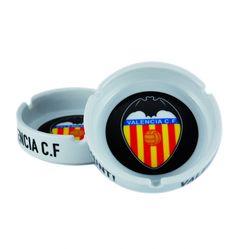 Valencia C.F. Cenicero Grande Porcelana - Cenicero Grande Porcelana Valencia C.F.