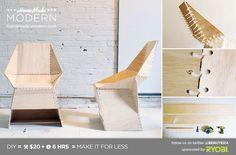 HomeMade Modern DIY EP21 The ZipStich Chair Postcard