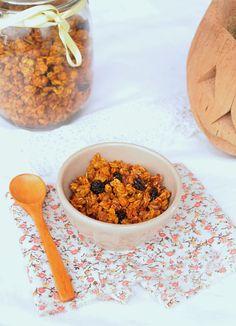 Nem acredito que é saudável!: Granola de abóbora (sem açúcar, vegan, sem glúten) . Pumpkin Granola ( sugar-free, vegan, gluten-free)