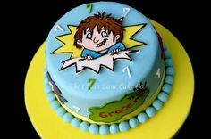 Horrid Henry Cake - The Chain Lane Cake Co. 11th Birthday, Birthday Cakes, Birthday Ideas, Lane Cake, Cake & Co, Shaun The Sheep Cake, Holidays And Events, How To Make Cake, Cake Ideas