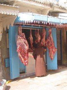 Boucherie à Essaouira.
