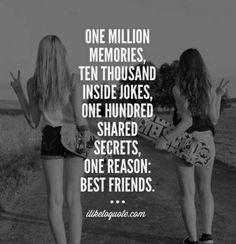 Nahh,she Is My SISTER · Quotes For SummerBff QuotesBest Friendship ...