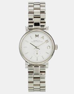 Marc By Marc Jacobs - Baker MBM3246 - Petite montre - Argenté