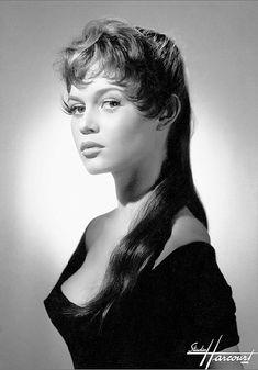 Brigitte Bardot © Studio HARCOURT