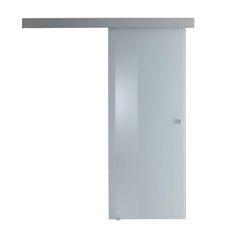 Risultati immagini per porta scorrevole interna vetro bianco acidato ...