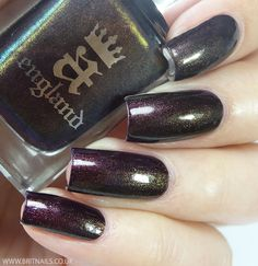 A-England Rossetti's Goddess Collection Swatches and Review | Brit Nails - Incense Burner