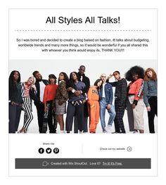 All Styles All Talks!