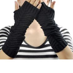 >> Click to Buy << NEW Fashion Winter Women Fingerless Gloves Knitted Mitten short Half-finger Gloves Christmas Women's Accessories Drop shipping #Affiliate