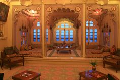 Eastern style luxury lounge