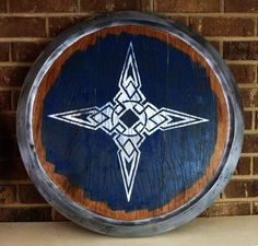 Picture of Build a Replica Skyrim Shield