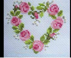 This post was discovered by Şengül Er. Discover (and save!) your own Posts on Unirazi. Cross Stitch Heart, Cross Stitch Cards, Cross Stitch Flowers, Cross Stitching, Cross Stitch Embroidery, Hand Embroidery, Embroidery Designs, Cross Stitch Designs, Cross Stitch Patterns