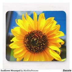 Shop Sunflower Mousepad created by MarblesPictures. Holiday Cards, Christmas Cards, Mandala Throw, Custom Mouse Pads, Mousepad, Where The Heart Is, Marketing Materials, White Elephant Gifts, Business Supplies