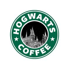 Hogwarts Coffee Stretched Canvas