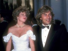 Melanie Griffith & Don Johnson - 2nd wedding - 1989–1996 - they were married for a short time previously in 1976 (divorced in '76 also)