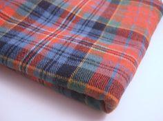 Blue Tartan Plaid Fabric images