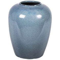 Vase Rio gråblå
