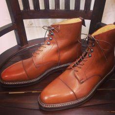 KOKON Ambiorix「America」カントリーカーフ ライトブラウン #gloucesterroad #KOKON #shoes #yokohama