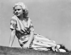 """""""Men like me because I don't wear a brassiere. Women like me because I don't look like a girl who would steal a husband. At least not for long.""""  —Jean Harlow"""