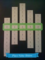 Place Value Sliders #math #freeprintable