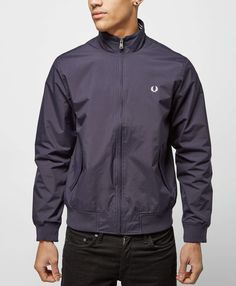 Fred Perry Lightweight Brentham Jacket - The Brand Authority, scotts Menswear, brings you the latest clothing, footwear and accessories from top menswear brands.