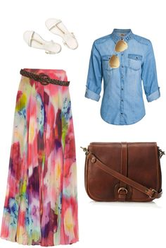 """Spring Time, Casual Apostolic"" by talking-tina ❤ liked on Polyvore"