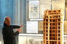 "Rem Koolhaas. ""Auguste Perret, Huit Chefs d'œuvre!/?-- Architectures du béton armé"". Imagen © OMA. Señala encima de la imagen para verla más..."