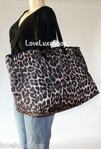 Coach leopard diaper bag :)