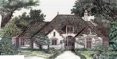 European   House Plan 97504