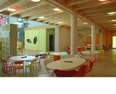 not technically a kids room... but an amazing nursery school design