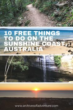 Your trip to the Sunshine Coast in Queensland does not have to break the bank. Here are 10 free things to do in the Sunshine Coast! Australia Destinations, Australia Travel Guide, Australia Tours, Travel Destinations, Travel Tips, Western Australia, Holiday Destinations, Budget Travel, Noosa Australia