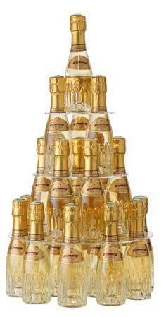 Pyramide de champagne diamant