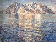 Scandinavian, Mountains, Nature, Paintings, Inspiration, Kunst, Biblical Inspiration, Naturaleza, Paint