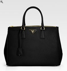 Prada Saffiano Tote :) recently bought mine and LOVE IT! #prada #musthave #essentials