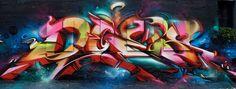 Graffiti : L'artiste Does dévoile son projet Endless Perspective à Amsterdam - News - Street-art et Graffiti   FatCap