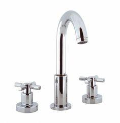 Totti basin 3 hole set in Totti | Luxury Crosswater Bathroom Design Ideas & UK Bathroom Trends 2013