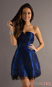 A prom dress I might get for homecoming. Something navy blue at least.