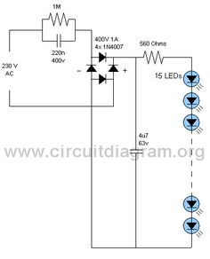 LED Lamp Circuit | CircuitDiagram.Org