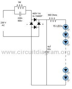 LED Lamp Circuit | CircuitDiagram.Org