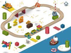 Pango Playground , application iPad Android pour les enfants : venez lire l'avis de La Souris Grise !
