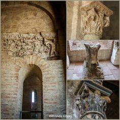 Romanesque Sculpture and Frescos Inside the Basilica of St Sernin Toulouse Romanesque Sculpture, Toulouse France, Fresco, Saints, Museum, Antiques, Vacations, Europe, Travel
