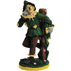 One of my favorite discoveries at WBShop.com: The Wizard of Oz Scarecrow Corn Figurine