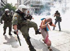 Amnesty: EU-maiden lopetettava mielenosoittajien väkivaltainen kohtelu