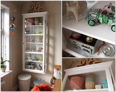 Finally i see our little beauty Model V4 White in a childrens room. Creative styling - Thank you for sharing :-)