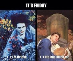 Friday by The Cure & Morrissey
