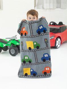 #Free #Knitting #Pattern: Traffic Throw