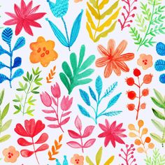 Find Vector Pattern Flowers Plants Floral Decor stock images in HD and millions of other royalty-free stock photos, illustrations and vectors in the Shutterstock collection. Thousands of new, high-quality pictures added every day. Wallpaper Chevron, Flower Wallpaper, Wall Wallpaper, Feature Wallpaper, Perfect Wallpaper, Pattern Images, Vector Pattern, Watercolor Cards, Watercolor Flowers